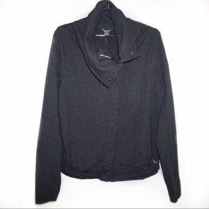 Eddie Bauer |Funnel Neck Button Sweater